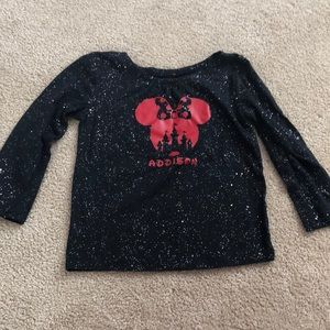 Disney shirt with name Addison